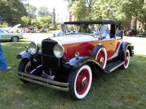 1931 Hupmobile Century 6 (owner: Walt Colton)