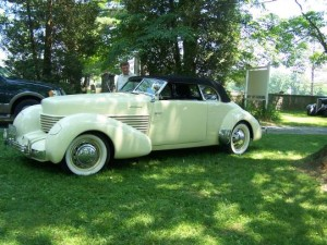 1936 Cord (owner: Al Light)