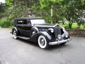 1937 Packard (owner: Claude & Lois Williams)