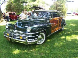 1948 Lincon Town & Country Woody (owner: Ray Bowersox)