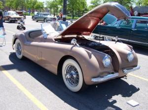 1954 Jaguar (owner: Earl & Valarie Mowrey)