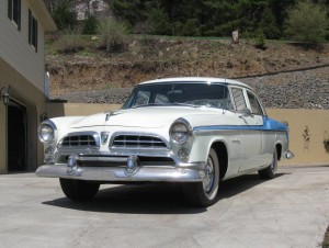 1955 Chrysler Windsor Deluxe (owner: Larry & Glenda Breon)