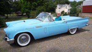 1957 Ford Thunderbird (owner: Norm & Elaine Kobbe)