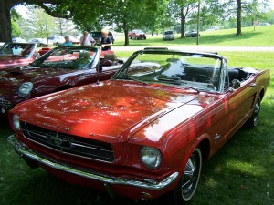 1965 Ford Mustang (owner: Carl & Beverly Bennett)