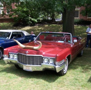 1969 Cadillac Deville Convertible (owner: Bill & Nancy Hart