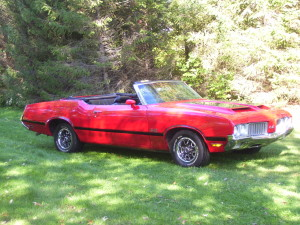 1970 Oldsmobile 442 Convertible (owner: Ed & Margaret Stroble)