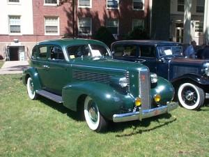 1937 LaSalle (owner: Jim Stetts)